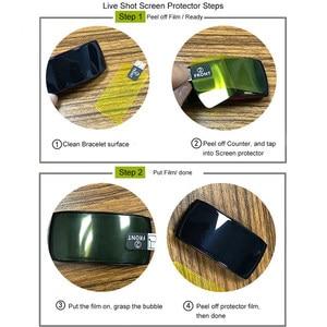 Image 5 - נגד שריטות רך TPU Ultra HD ברור מגן סרט עבור Samsung Gear Fit 2 פרו עבור ציוד Fit2/פרו מלא מסך מגן כיסוי