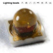 купить 120PCS HONGLI Replace CREE LG 3535 1W red LED 620nm 625NM по цене 1302.62 рублей