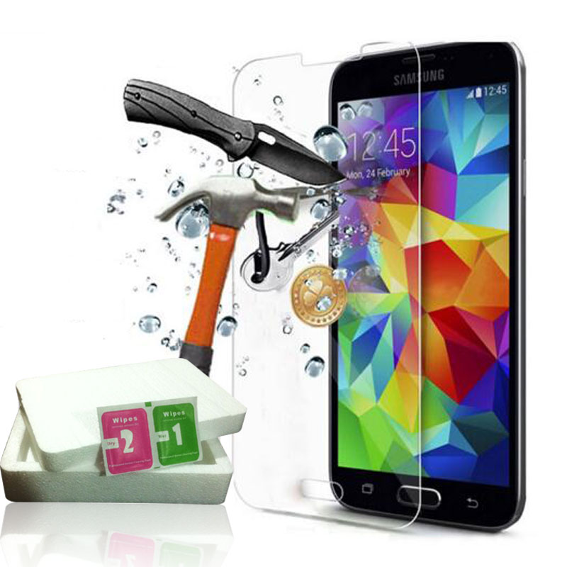Tempered Glass For Samsung Galaxy A8 2018 A3 A5 A7 2017 S3 S4 S5 S6 Note3 4 5 J1 2 J3 J5 J7 A3 A5 A7 2016 Screen Protector Film