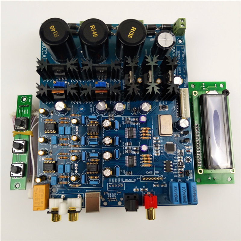 Back To Search Resultsconsumer Electronics Portable Audio & Video Charitable Dual Pcm1794 Hifi Audio Decoder Ak4118 Digital Reception Mcu Display Control Panel Finished Board