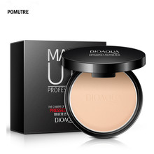 Maquiagem Profissional Face Press Powder Makeup Concealer Kits Whitening Moisturizing Oil-control Cosmetics