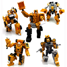 1pcs Transformation Robot Model Toys Car Transform Anime Action Figure Alloy Truck Assembly Deformation Car For Boys Gifts