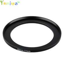 62 77mm Metal Step Up Rings Adapter Lens Set Filter