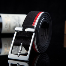 2017 men fashion Accessories pu leather luxury strap male belts for men black brown cintos masculinos plate buckle free shipping
