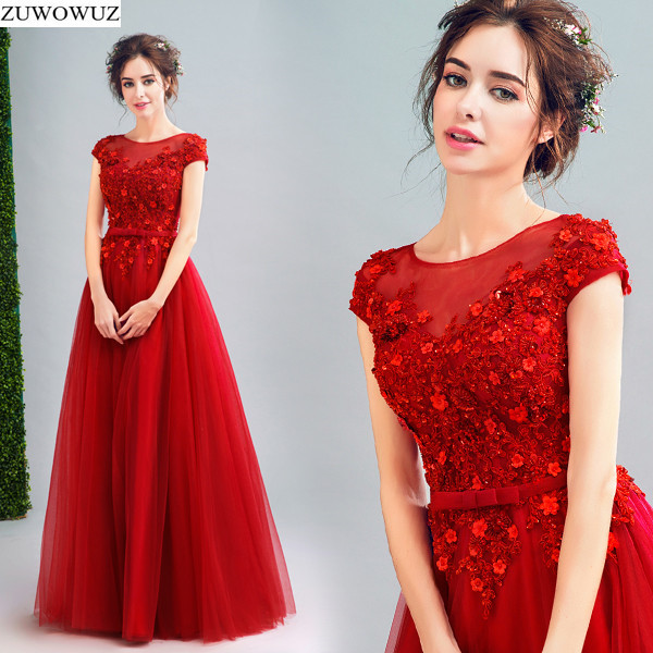 2017 New Arrival Stock Maternity Plus Size Bridal Gown Evening Dress