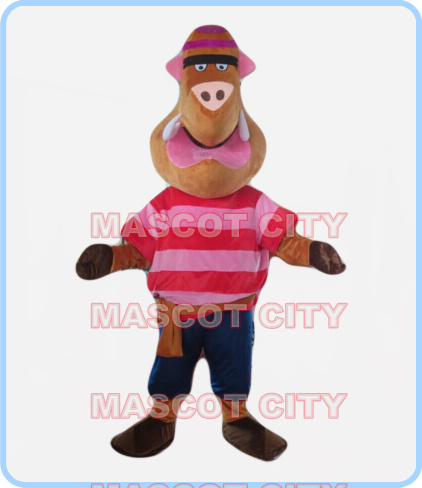 mascot wild boar mascot costume adult size cartoon wild animal theme cosplay fancy dress for carnival 2597