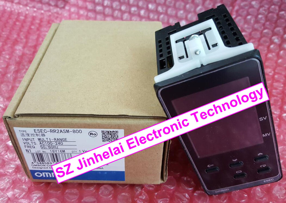 E5EC-RR2ASM-800, E5EC-RX2ASM-800  New and original  OMRON  Temperature controller  AC100-240V  50/60Hz