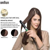 Braun Satin Hair 7 Iontec выпрямитель ST730 Аксессуары Укладка инструменты керлинг Выпрямление Утюги Профессиональный 100 240 В