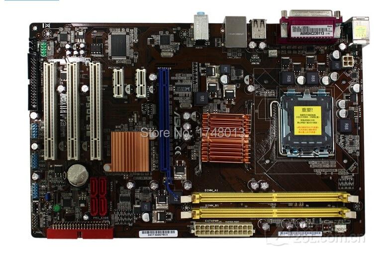 Free shipping original motherboard P5QL SE DDR2 LGA 775 Support dual-core quad-core Desktop motherborad militaristic g31 g31mx k g31 desktop motherboard p4 g31 lga 775 ddr2 core quad core 945gc 100% tested ok