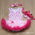 3-18 Months Baby Romper 3pcs/sets Princess Little Girl Clothes Reborn Doll Clothing Suits Doll Dress Photo Movie Props Wear