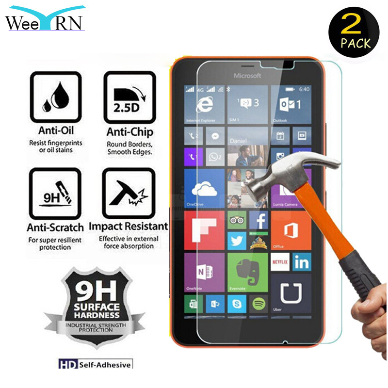WeeYRN 2pcs/lot Protective Glass For Microsoft