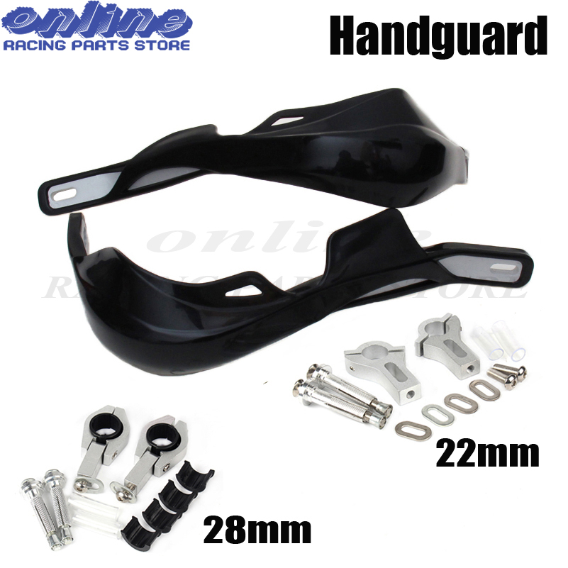 Handguards Handlebar Hand Guards Fit Motorcycle Motocross Dirt Pit Bike Off Road CRF YZF KXF EXC SF RMZ ATV EXW Supermoto for honda crf 250r 450r 2004 2006 crf 250x 450x 2004 2015 red motorcycle dirt bike off road cnc pivot brake clutch lever