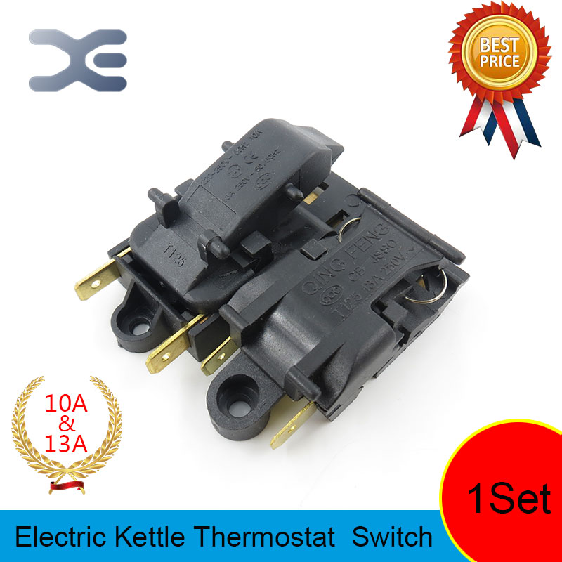 T125 XE-3 JB-01E 10A&13A Electric Kettles Switch Thermostat Spare Parts Kettles Water Heater Switch