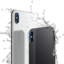 Newly Camera Lens Screen Protector HD Clear Tempered Glass Seamless Anti-scratch Cover for iPhone X DC128