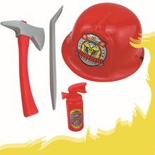 Toys-Sets Baton Simulation-Police Playing Fireman Role Cap Helmets-Caps Talkies-Props