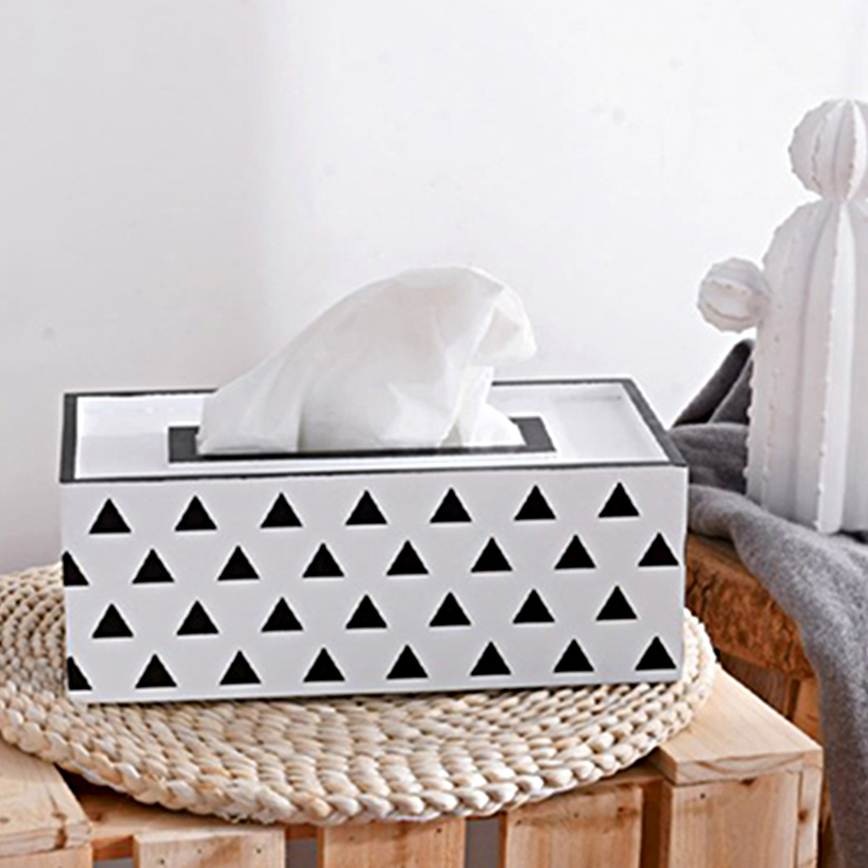 Creative Fashion Simple Multifunction Wood Removable Tissue Boxes Living Room Office Storage Box Paper Tissue Cases in Tissue Boxes from Home Garden