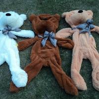 1pcs 100cm Three Colors Big Teddy Bear Skin Coat Plush Toys Stuffed Toy Baby Toy Birthday