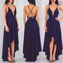 цены на MILLYN Hot Sale 2017 Women Dress Elegant Bohemian Beach Neck Cross back Sexy Maxi Dress Chiffon Halter CUT OUT Long Dress  в интернет-магазинах