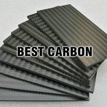 S95mm x 50mm x 2,5mm Twill матовая 3K пластина из углеродного волокна, лист из углеродного волокна, панель из углеродного волокна
