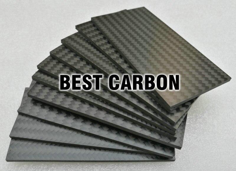95mm x 50mm x 2.5mm Twill matte 3K carbon fiber plate ,carbon fiber sheet , carbon fiber pannel, cfk STAB , crp sheet