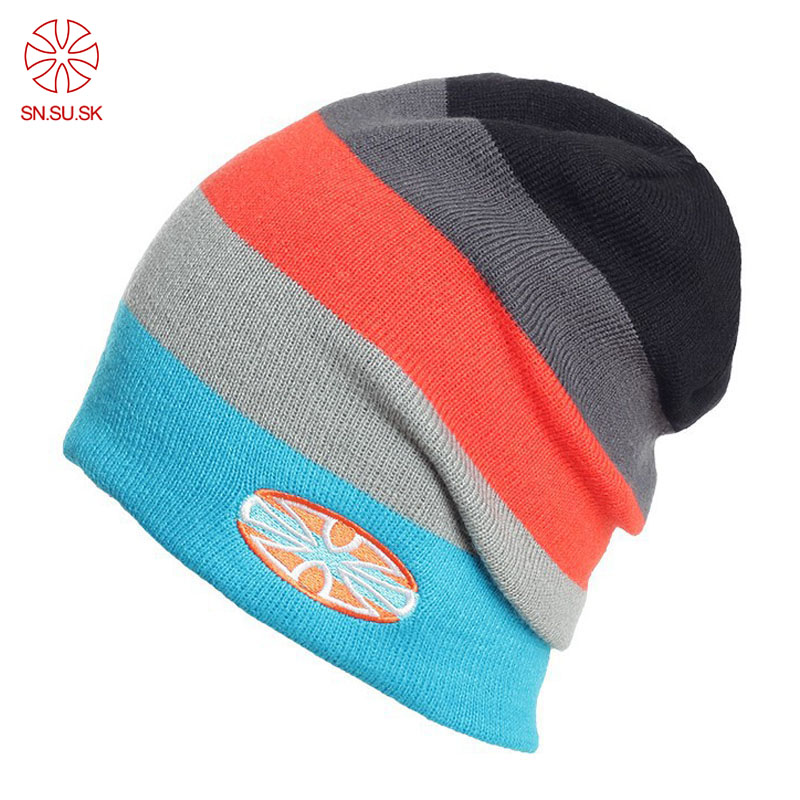 c533d2891a2 ... Hat Unisex Plain Warm Soft Beanie Skull Knit  new styles SK Men Women  Skiing Warm Winter Hats Knitting Skating Skull Caps For Woman Turtleneck ...