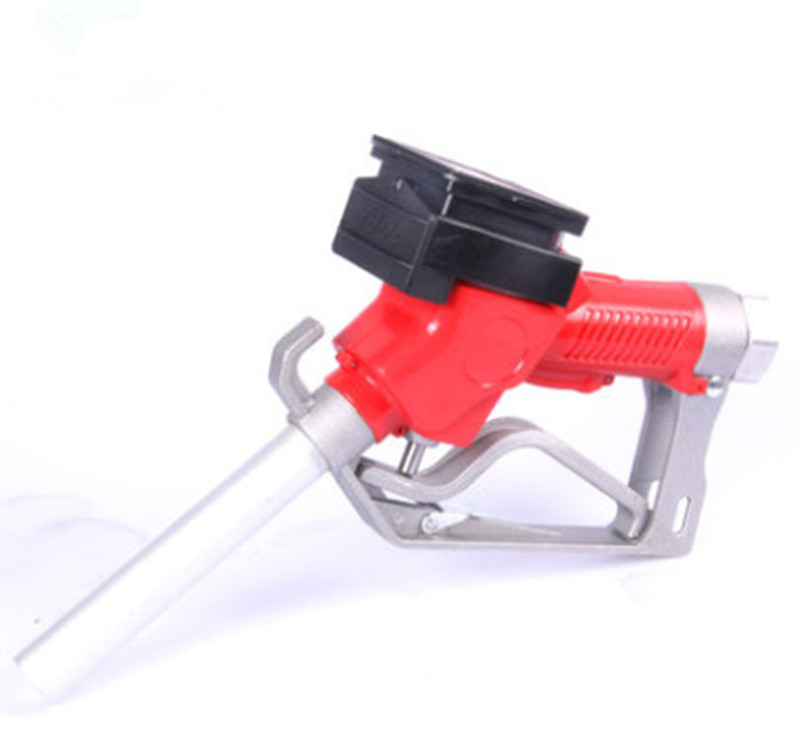 Fuel Gasoline Diesel Petrol Oil Delivery Gun Nozzle Turbine Flow Meter LPM Liter SPT/NPT Flowrate Flow Tester Meter Indicator цена