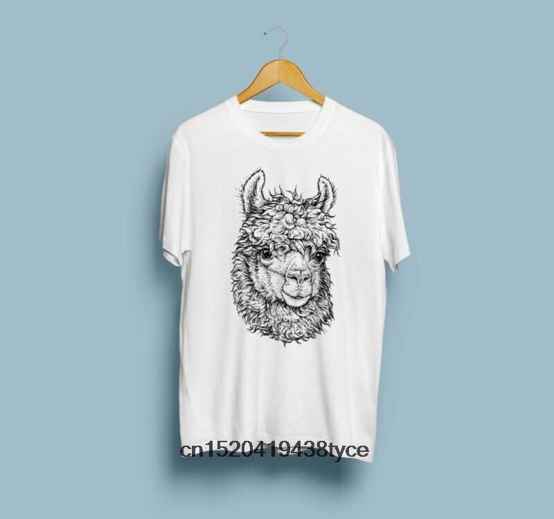 ผู้ชาย t เสื้อคนรักเสื้อแขนสั้น Llama พิมพ์ TShirt มือที่ไม่ซ้ำกันเสื้อผ้า Tee tshirt ผู้หญิง