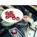 10 unids Tornillo de Junta de la Tapa Del Coche Para Opel Astra H J G Insignia Mokka Corsa D C Vectra Zafira Meriva Para Seat Altea Leon Ibiza