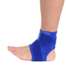 1PCS Compression Sport Ankle Brace Protector Ankle Support Pad Elastic Nylon Strap Brace Lengthen Bandage Ankle Pressure
