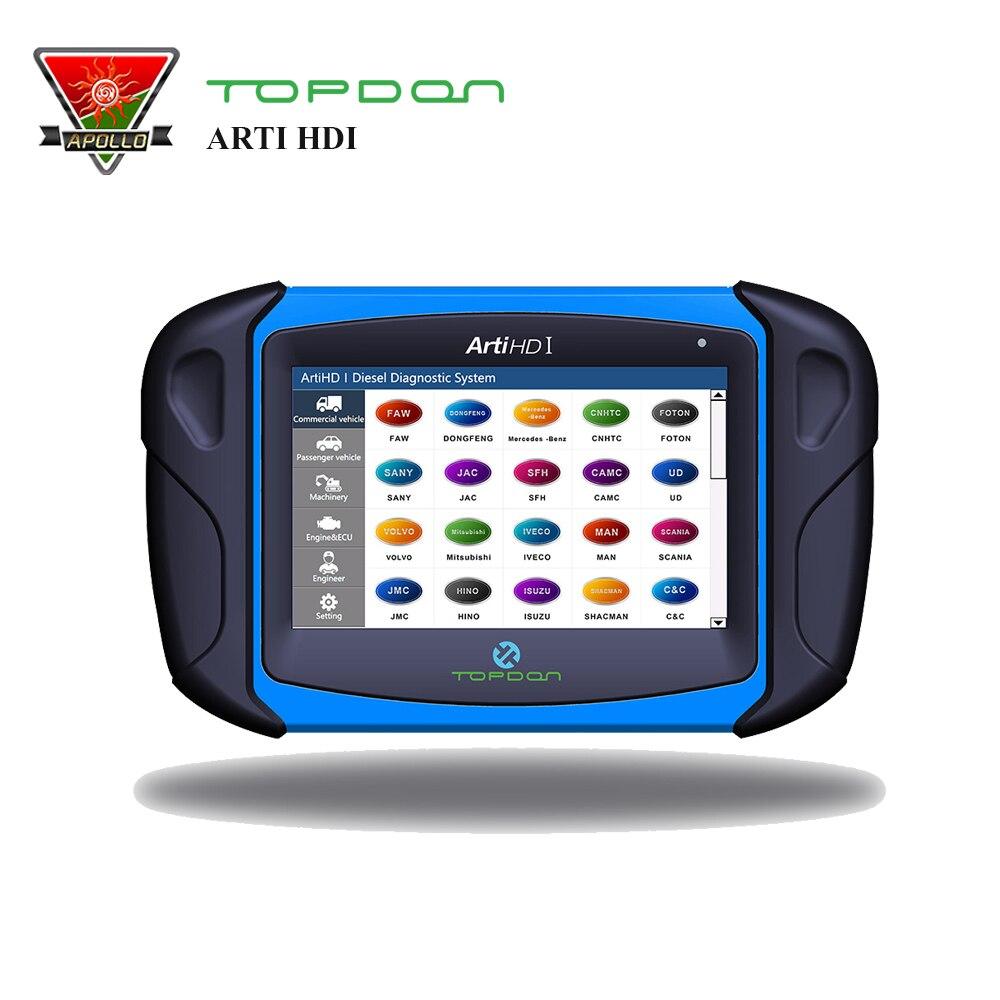 TOPDON ARTIHD I Heavy Duty HD Scanner Diagnostic Tool for Truck /GAS/DIESEL Cars Better than Launch Heavy duty