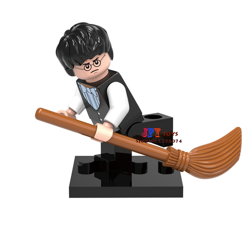 Single Sale star wars superhero marvel Harry Potter ideas building blocks model bricks toys for children brinquedos menino