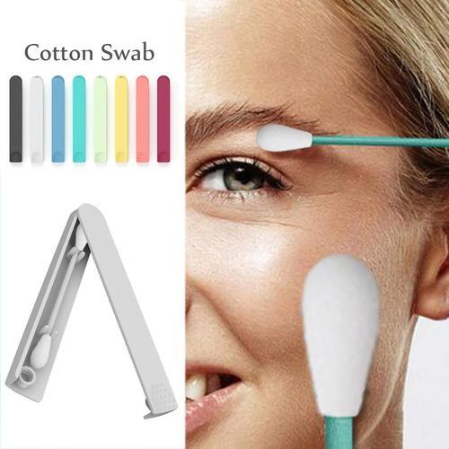 Reusable Cotton Swab Creative Environmentally Friendly  Cosmetic Cotton Sticks Makeup Accessory Karachi