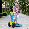 Дети scooter четырехколесный велосипед ребенка scooter шкив скутеры детей детский toys Ride on Car