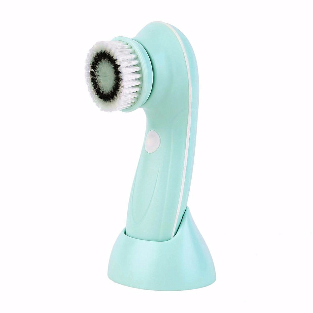 Multifunctional Electric Face Facial Cleansing Tools Household USB Rechargeable Facial Washing Cleaning Brush Machine face care new arrival 5 in 1 electric facial washing cleaning machine face skin care vibrator massager powered facial cleansing device