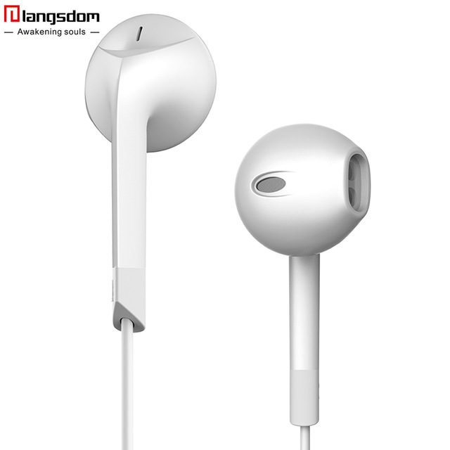 Hot Sale E6C Earphone Noise Canceling Headset Stereo Earbuds with Microphone for font b iPhone b