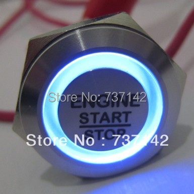ELEWIND 22mm engine start stop push button switch(PM221F-11E/B/12V/S with symbol)