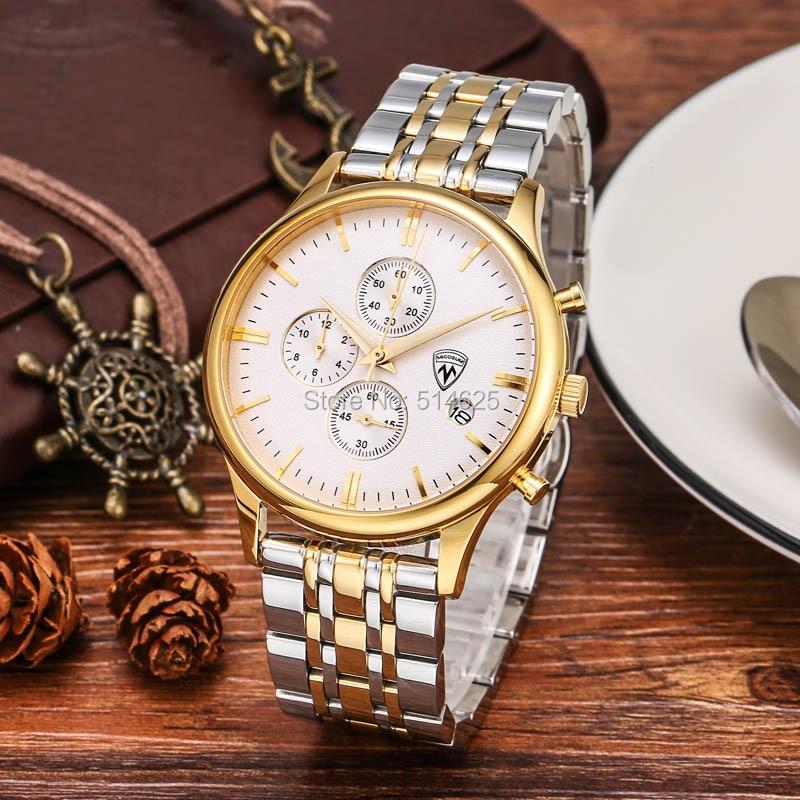 New Men Chronograph Watch Men's Watch Top Brand Luxury Watch Clock Quartz Casual Sport Watch Men Wrist watch relogio masculino