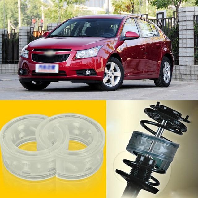 2pcs Power Front /Rear Shock Suspension Cushion Buffer Spring Bumper For Chevrolet Cruze