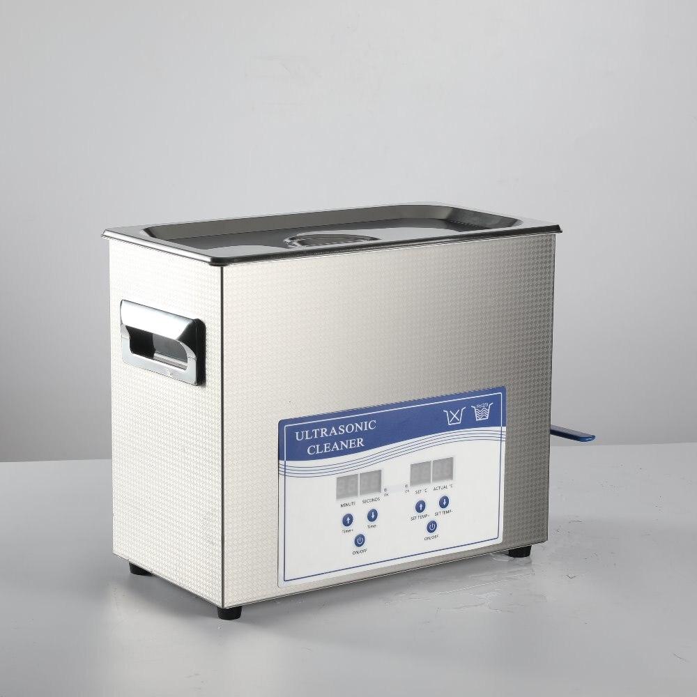 6L Ультразвуковой очиститель для лабораторной посуды и быстрого удаления поток PCB