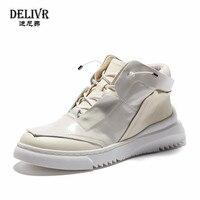 Delivr панк череп высокие туфли мужские классические кроссовки из натуральной кожи модные zapatillas hombre повседневная обувь Мужская Уличная обувь