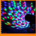 Auto RGB Colorful LED 3W Magic Ball Light Disco Stage Lighting Effect LED Crystal Lamp for DJ Bar Party