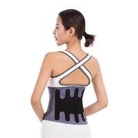 Waist Support Lumbar Belt back Brace bandage Back Pain Relief health Care posture corrector waist protector gym fitness