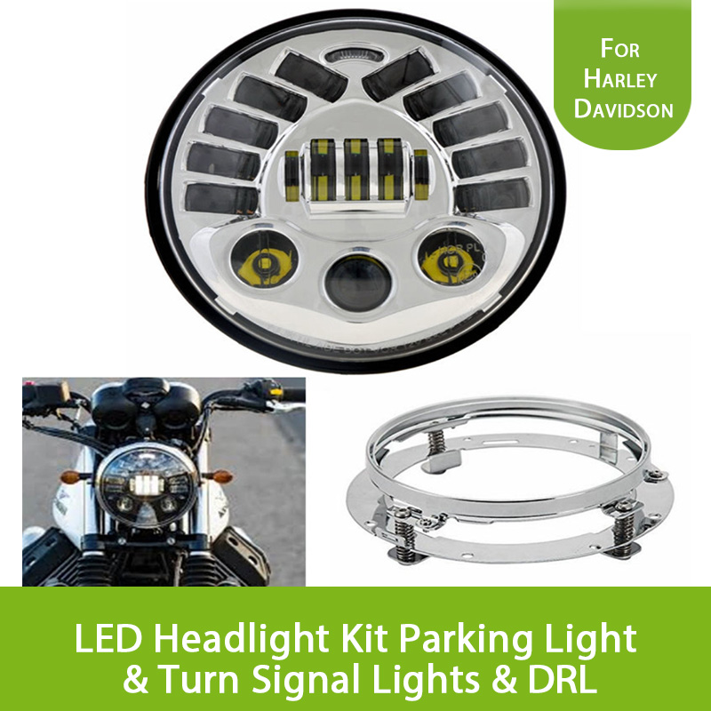 7 inch 50W Daymaker Projector LED Headlight Kit for Harley Davidson Motorcycle with Parking Light & Turn Signal Lights & DRL платье escada sport escada sport es006ewtku40