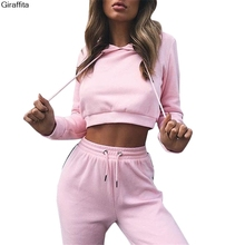 2017 New Arrive Hoodies Tracksuit for Women Short Skirt+Hoodies Set 2017 Autumn Sweatsuit Suit