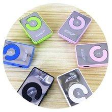 Mini Mirror Clip MP3 Player Portable Fashion Sport USB Digital Music