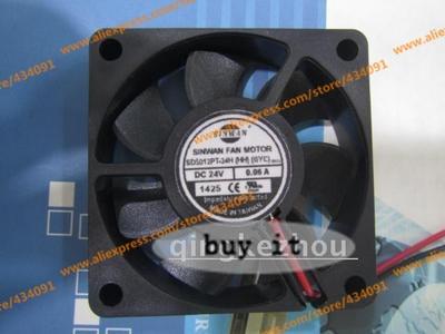 FREE SHIPPING  SD5012PT-24H (HH) 5010 fan 24V 0.06A fan inverter cooling fan NEWFREE SHIPPING  SD5012PT-24H (HH) 5010 fan 24V 0.06A fan inverter cooling fan NEW