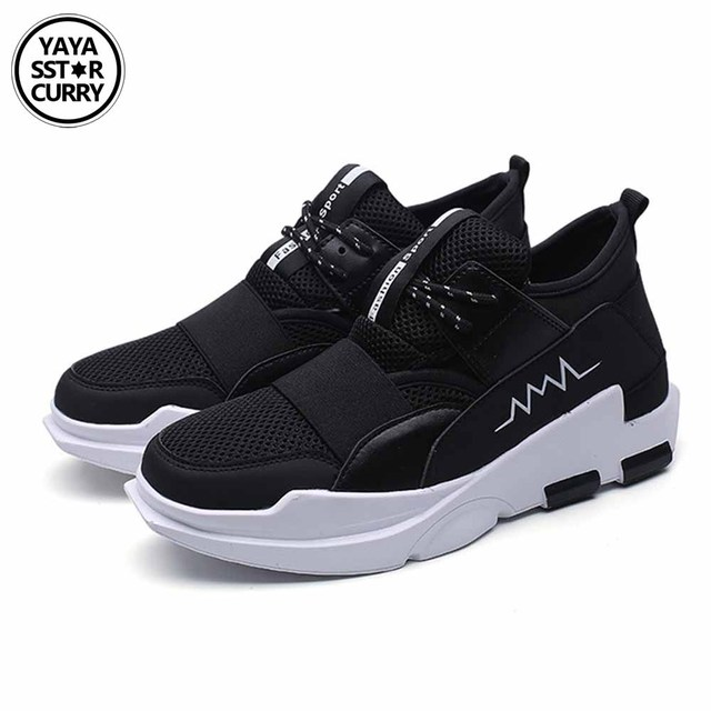 b8903ef1b10b Running Shoes Light Weight Mesh Sports Shoes Black White Jogging Cheap Y3  Sneakers For Man Outdoor Flat Walking Trend Shoes