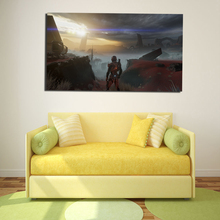 Mass Effect 3 Andromeda Art Canvas Painting Print Bedroom Home Decor Modern Wall Oil Poster Salon Picture Framework