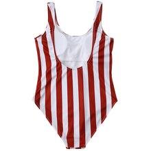 Striped Brazilian Beach Swimwear