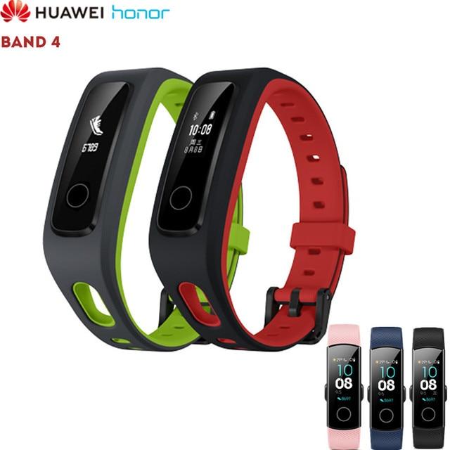 HUAWEI Honor Band 4 Standard/Running Version Smart Wristband Fitness Tracker Sports 50M Waterproof Bracelet Sleep Monitor